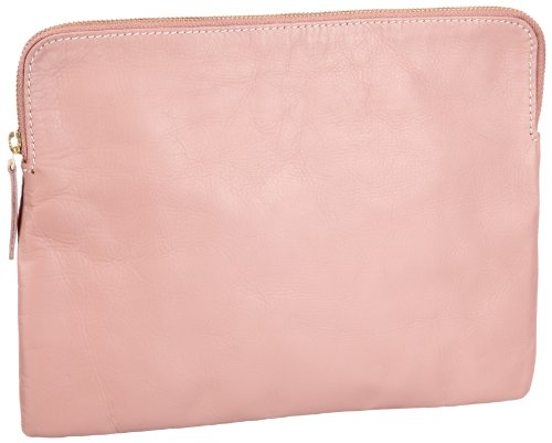 PIECES FABIOLA LEATHER 17036108, Damen Clutches 30x20x5 cm (B x H x T)