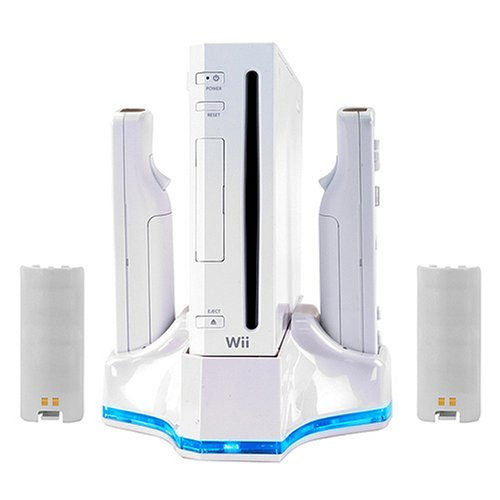 Wii Dual Charge Station & Turbo Cooler