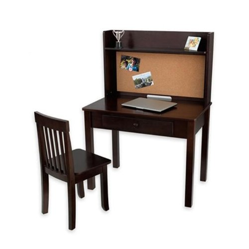 Kidkraft Pinboard Desk With Hutch And Chair Kids