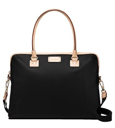 Kate-Spade-Kennedy-Park-Calista-Nylon-Laptop-Bag-Black