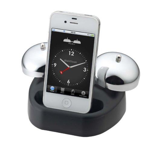 NOA iBell アイベルWakeup Alarm for iPhone ベルアラーム N-014 BK ブラック N-014 BK