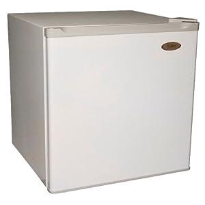 Haier HNSB02 1.7 Cu-Ft Refrigerator/Freezer, White