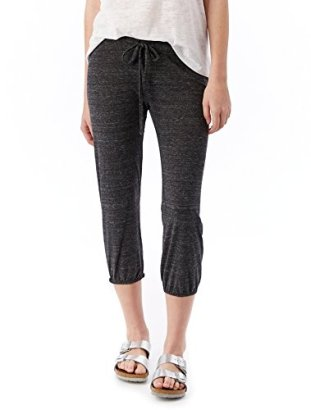 Alternative-Womens-Eco-Heather-Cropped-Pant-Eco-Black-Medium
