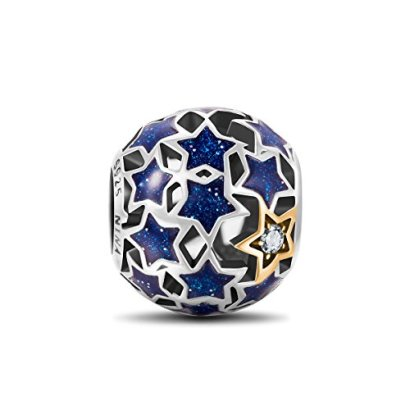 NinaQueen-Starry-Night-925-Sterling-Silver-Openwork-Charms-Star-Jewelry-Vintage-Pendent-Blue-Stars-Romantic-Gifts-for-her-a-great-gift-for-Mom-Wife-Girlfriend-daughter-and-friends-on-Birthday-Annivers