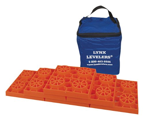 Amazon.com: Lynx Levelers The only way we can level our bus is on boards, or leveling blocks. We carry a combo of both.