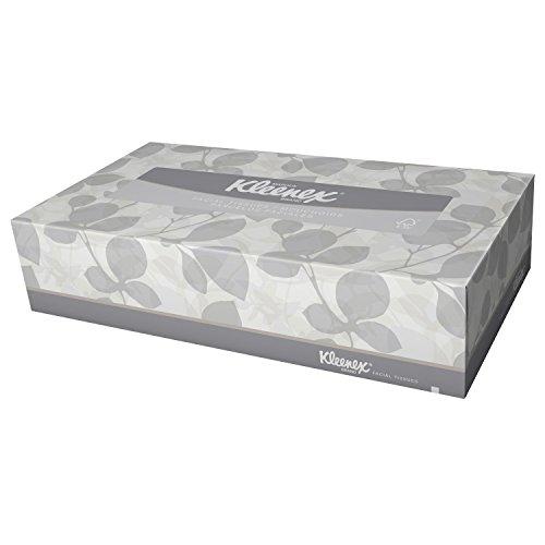 Kimberly-Clark Kleenex 21400 Facial Tissue, 2