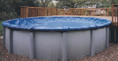 28' Diameter Winter Above Ground Swimming Pool Cover 8 year Limited Warranty