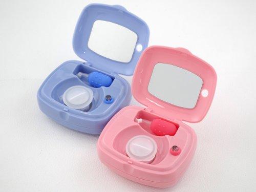 コンタクトレンズ洗浄ボックス コンタクト洗浄器【ピンク】