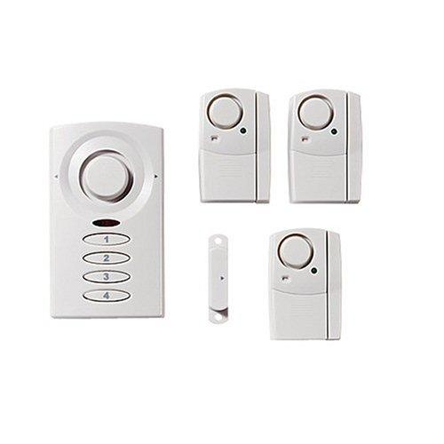 Ge 51107 Wireless Alarm System Kit