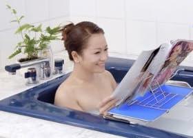 お風呂で本読み バスブックスタンド~キッチンのレシピスタンドとしても活用できる!!~