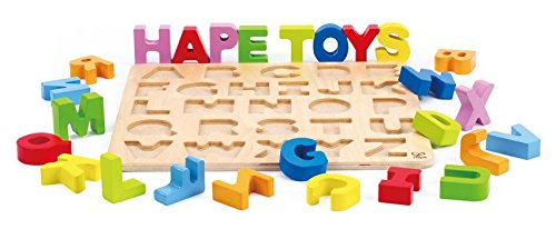 Hape Happy Puzzles - Alphabet Puzzle Puzzle