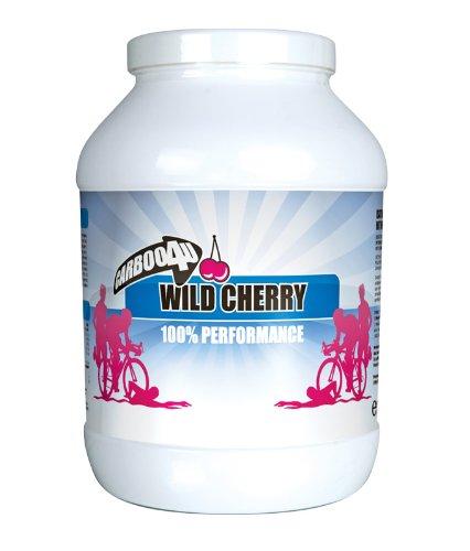 Carboo4U Performance Drink Wild Cherry Pulver, 1er Pack (1 x 1.4 kg)