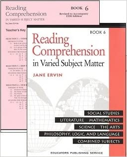 Reading Comprehension in Varied Subject Matter SET Level 6 ...
