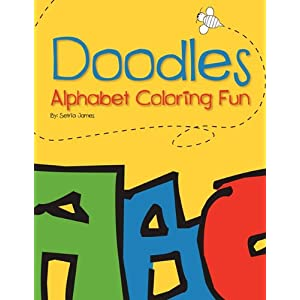Doodles: Alphabet Coloring Fun