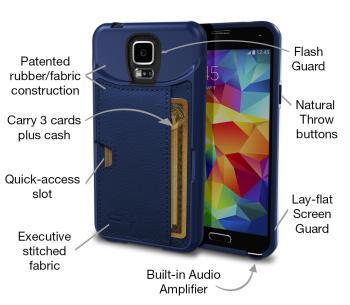Galaxy S5 Wallet Case: Q Card Case