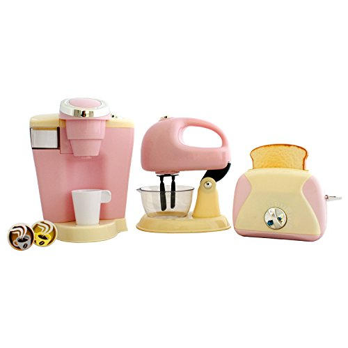 Kitchen Appliance Set 3 Coffee Maker Mixer Toaster Quality