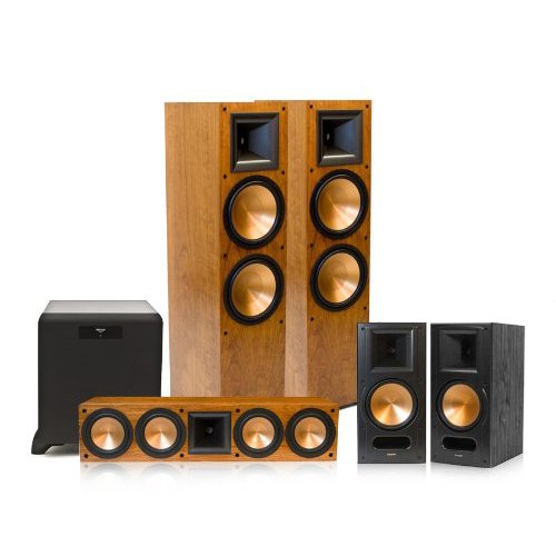 video review klipsch rf 7 ii reference series 5 1 home theater system with sw 450 subwoofer. Black Bedroom Furniture Sets. Home Design Ideas