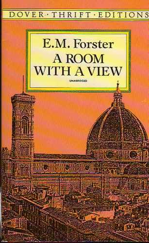 Cover image of E. M. Forster's  A Room with a View novel