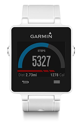 Garmin Vivoactive White Bundle (Includes Heart Rate Monitor)
