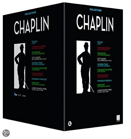 Chaplin DVD Box Set - Chaplin Collection Volume 1 (10 DVD): The Kid / A Woman of Paris / The Circus / City Lights / Modern Times / The Great Dictator / The Gold Rush / Monsieur Verdoux / Limelight / A King in New York [import]