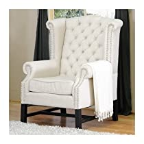 best buy baxton studio sussex beige linen club chair set of leather sofa best