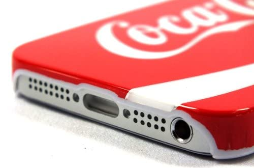 Apple iPhone5 コカ・コーラ Coca-Cola iPhone5ハードカバー (赤 493)