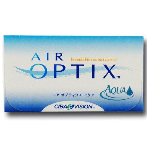 Ciba Vision Air Optix Aqua Monatslinsen weich, 6 Stück / BC 8.6 mm / DIA 14.2 / -2,00 Dioptrien