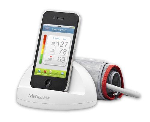 Medisana 52300 iHealth Blutdruckmessmodul, weiss