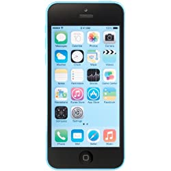 Apple iPhone 5C Blue 16GB Unlocked GSM Smartphone (Certified Refurbished)