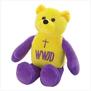 WWJD Bear click here to go to the products page.