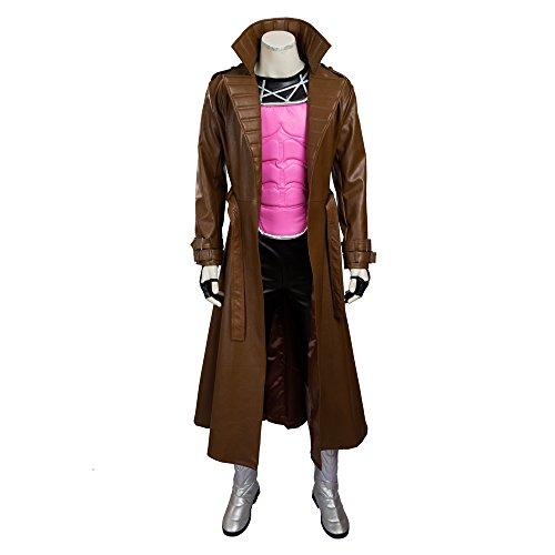 HZYM Men's X-Men: Apocalypse Gambit Cosplay Costume (M)