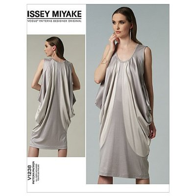 schnittmuster kleid knielang: Vogue V1238 Issey Miyake Designer ...