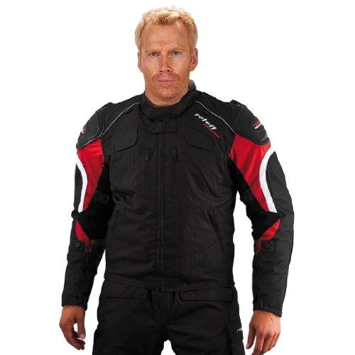 Roleff RO 325 Gr. XL Kodrajacke Sports, schwarz / rot
