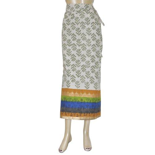 Mode für Sommer / Herst, Damenrock aus Baumwolle, lang