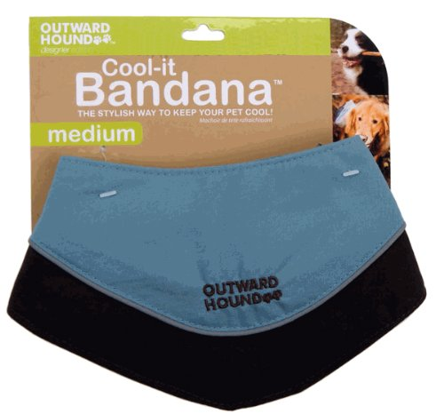 Outward Hound Cool-it Bandana - MEDIUM