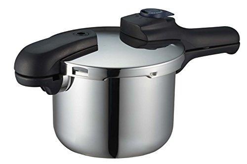 パール金属 圧力鍋 3.5L IH対応 3層底 切り替え式 レシピ付 クイックエコ H-5040 41jv19C5fmL