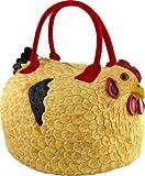 Rubber Chicken Hen Tote Bag Handbag Purse Pocketbook