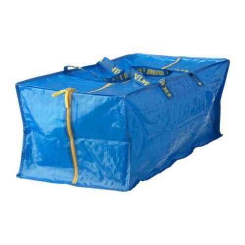 Ikea 901.491.48 Frakta Storage Bag, Blue
