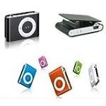 Mini Clip MP3 Player for 2GB 4GB 8GB Micro SD Card Black for $6.81 + Shipping
