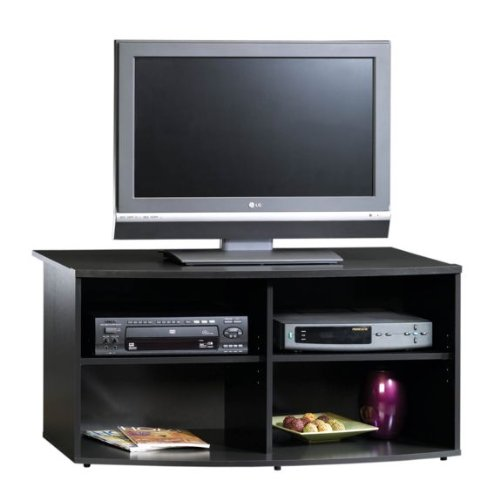 Buy low price black flat panel tv stand b004zssz5u for Where to buy tv console