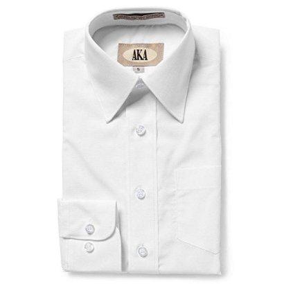 AKA-Boys-2-20-Regualr-Fit-Long-Sleeve-Solid-Dress-Shirt-Colors