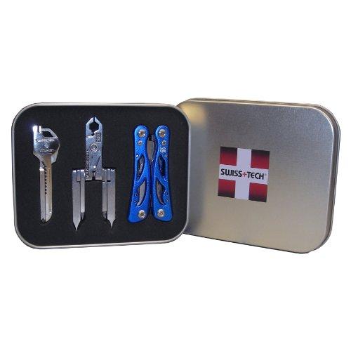 Swiss+Tech Gift Box Set of Key Ring Multi-Function Tools