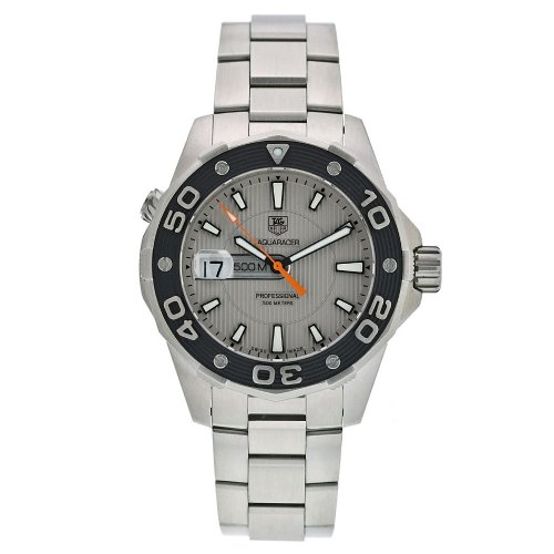 TAG Heuer Men's WAJ1111.BA0870 Aquaracer 500M Quartz Watch