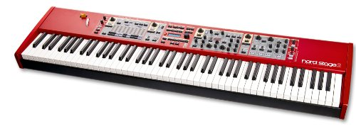 Nord Stage 2 SW73, 73-Key Semi-Weighted Waterfall Keyboard Digital Stage Piano (AMS-NST-SW 73)
