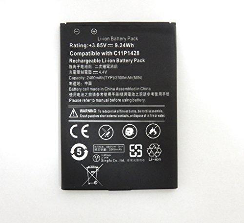 ASUS ZenFone2 Laser ZE500KL 交換用 互換バッテリー電池パック C11P1428