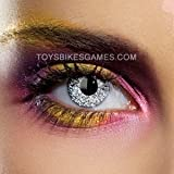 Edit Schimmer Silber Kontaktlinsen (Paar) 90 Tage Objektive