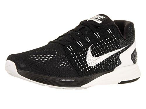 Nike Men's Lunarglide 7 Black/Summit White/Anthracite Running Shoe 9 Men US