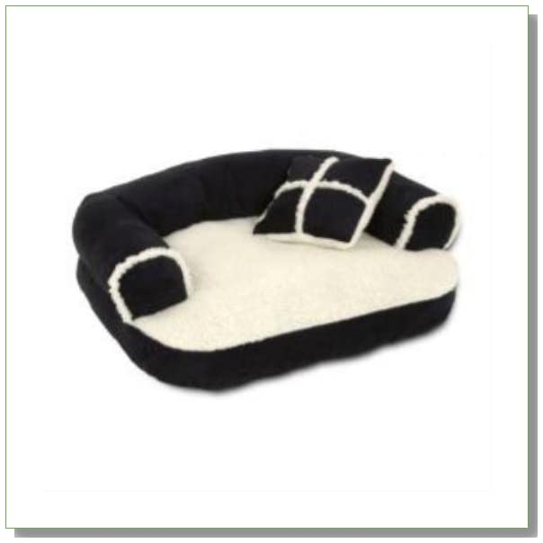 Dosckocil (Petmate) DDS28377 Sofa Dog Bed, 20 by 16-Inch- Random colors