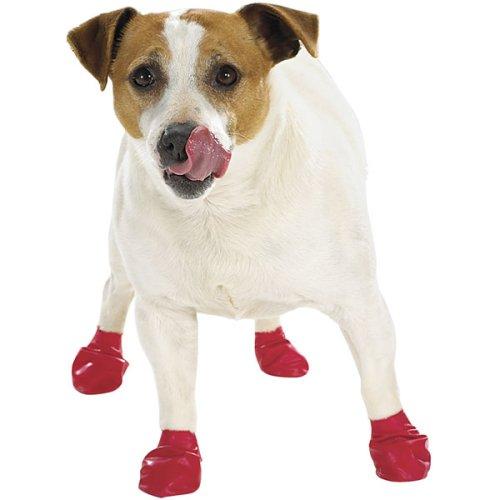 Waterproof Dog Boots Pawz Set of 12 XXSmall