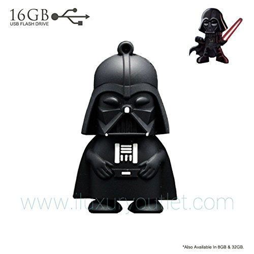 16GB EXTREME Speed Star Wars Darth Vader USB 2.0 Full Capacity Flash Drive w GIFT BOX (US SELLER)